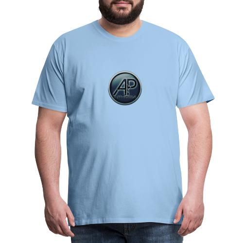 Logo Aphobia 3 - Mannen Premium T-shirt