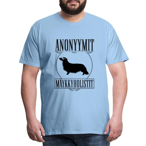 Mäykkyholisti PK II - Miesten premium t-paita