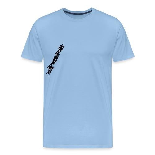 Logo_DoepRecordz Wings1 - Männer Premium T-Shirt