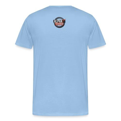 Alpha Riders Logo Pulli png - Männer Premium T-Shirt