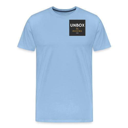 NEW Unbox The Reviews Log - Men's Premium T-Shirt