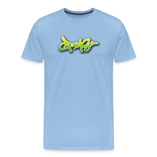 FMS Logo Green - Männer Premium T-Shirt