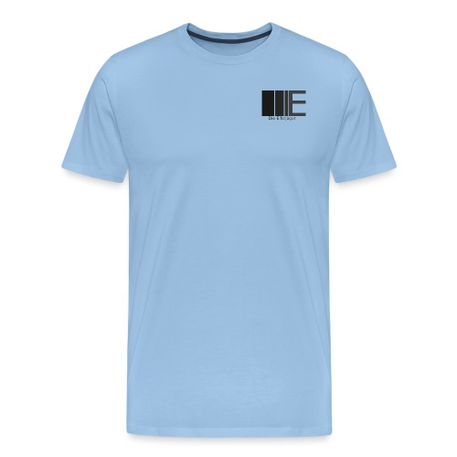 DieEifeljägerLogo5 schwarz weiß png - Männer Premium T-Shirt