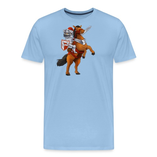 PlayMinity Horse&Man - Men's Premium T-Shirt
