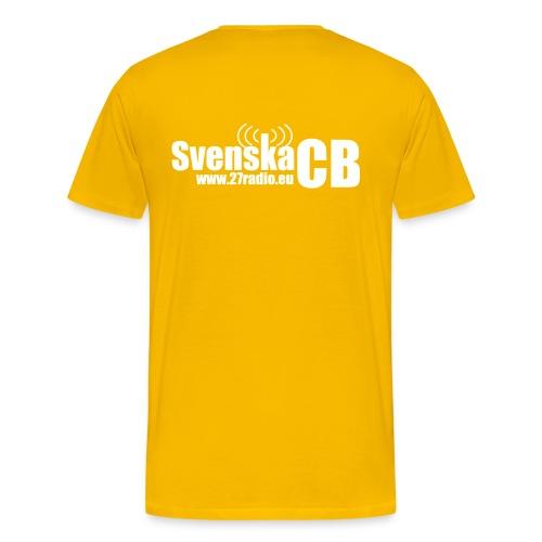 SvenskaCB - Premium-T-shirt herr