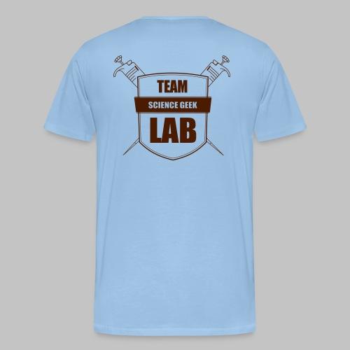 lab team - Men's Premium T-Shirt