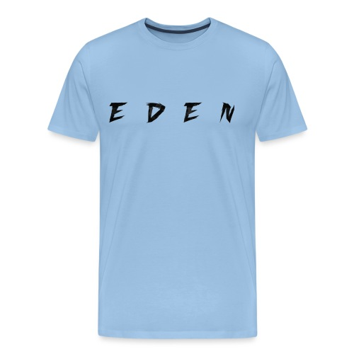 pattern EDEN camo noir png - T-shirt Premium Homme
