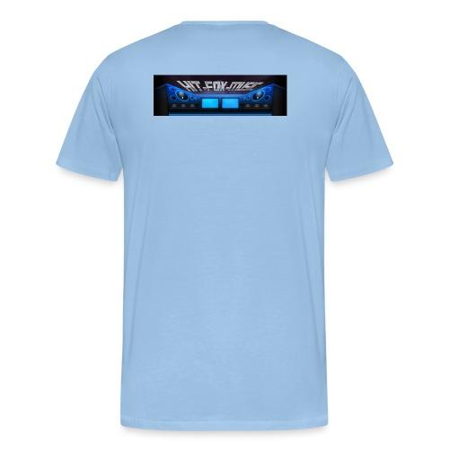 Hit-Fox-Music - Männer Premium T-Shirt
