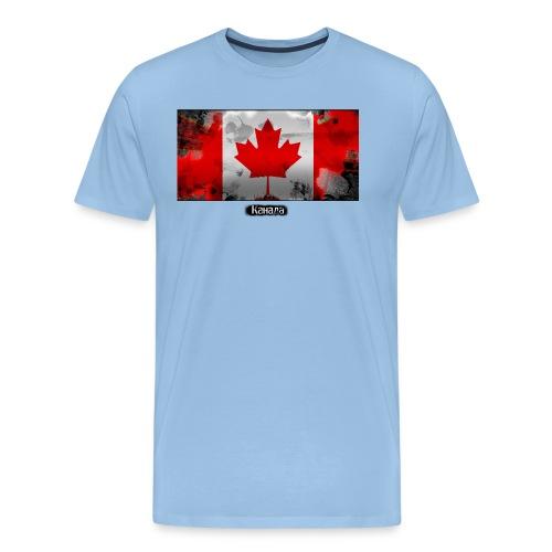 kanada png - Men's Premium T-Shirt