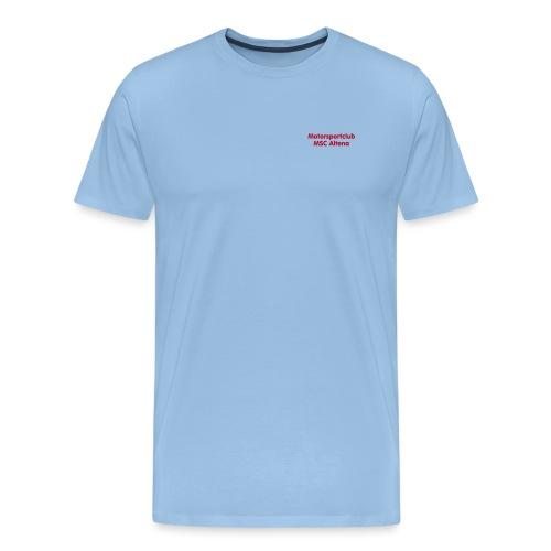 msc_70mm_text_ws - Männer Premium T-Shirt