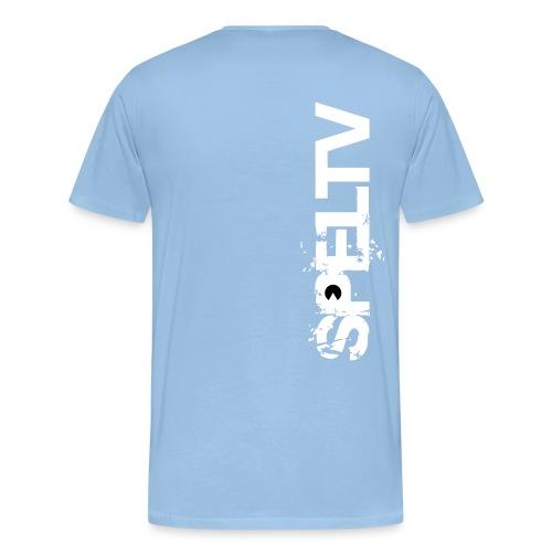 spelTV logo small simple - Premium-T-shirt herr