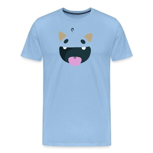 Tiny Face - Männer Premium T-Shirt