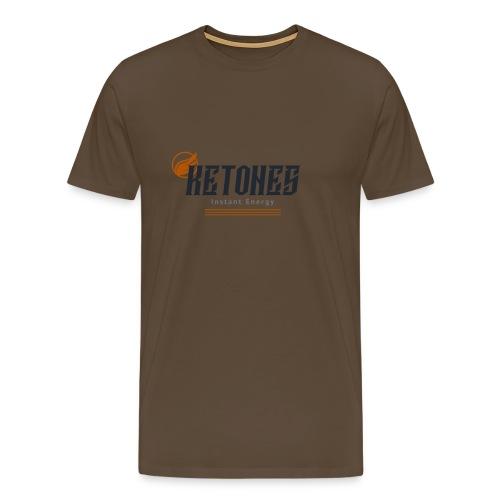ketones instant energy mu - Männer Premium T-Shirt