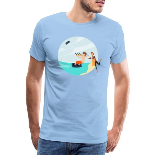 Hairdresser - Men's Premium T-Shirt