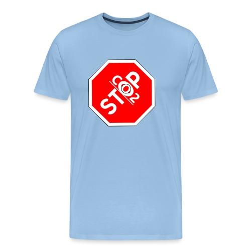 Co2-OuT! Stop Co2 - Männer Premium T-Shirt