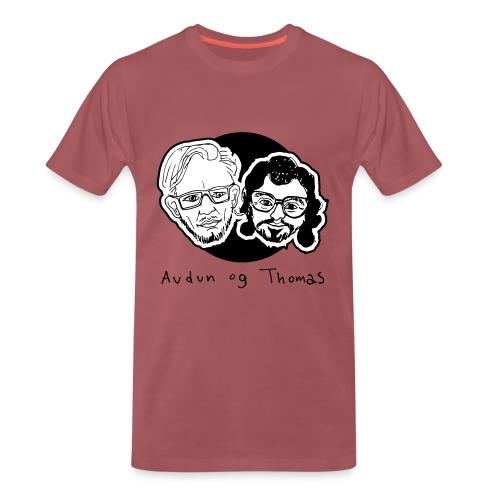 Audun og Thomas - Premium T-skjorte for menn