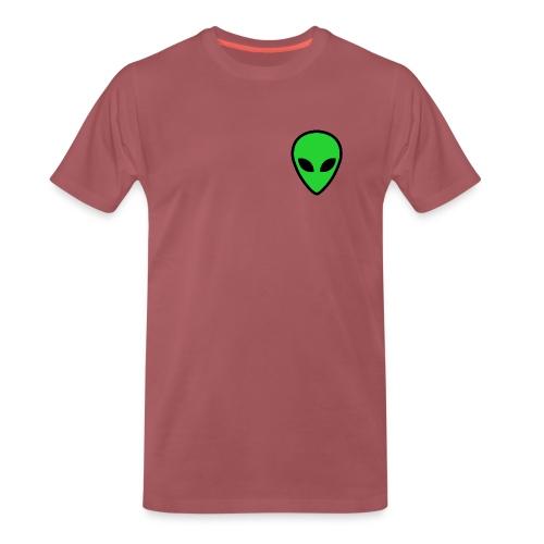 alien face 4 - Maglietta Premium da uomo