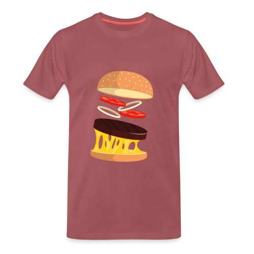 Hamburger Men - Men's Premium T-Shirt