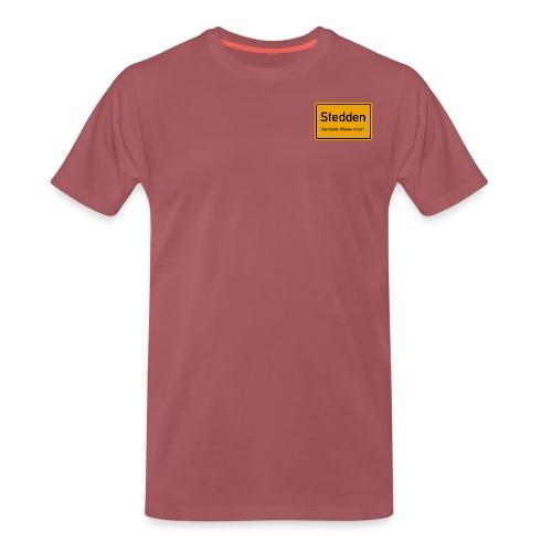 Stedden - Das Dorf am Rande der Lüneburger Heide - Männer Premium T-Shirt
