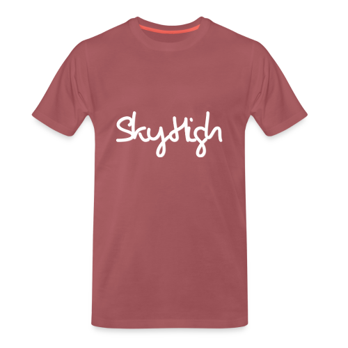 SkyHigh - Snapback - (Printed) White Letters - Men's Premium T-Shirt