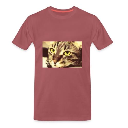 Cat - Miesten premium t-paita