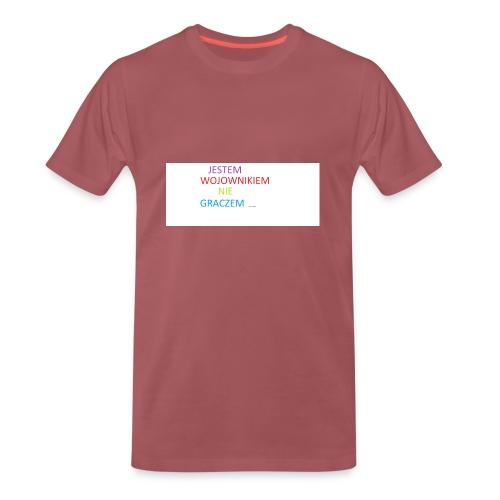 kim jesteś - Koszulka męska Premium