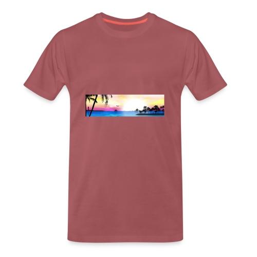 tropical - Camiseta premium hombre