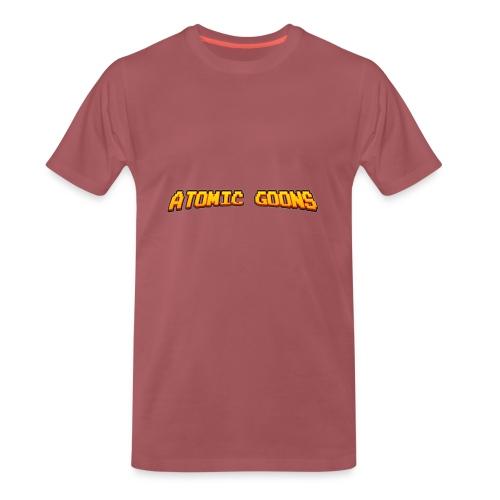 AG_Snapback gray - Premium T-skjorte for menn