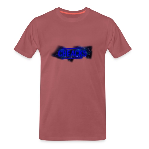 New Cheacks Banner/Logo Men Shirt - Mannen Premium T-shirt