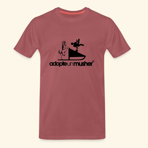 adopte un musher - T-shirt Premium Homme