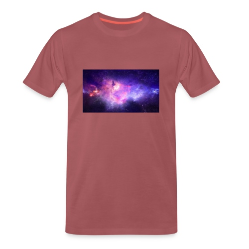 galaxy - Premium T-skjorte for menn