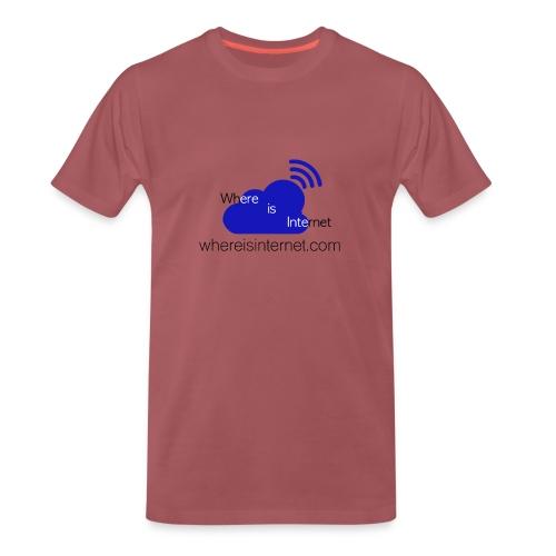 Where is the Internet - Men's Premium T-Shirt