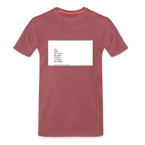 swarz - Männer Premium T-Shirt