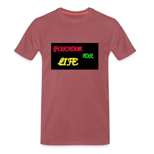 Parkour for Life graffiti merchandise - Men's Premium T-Shirt