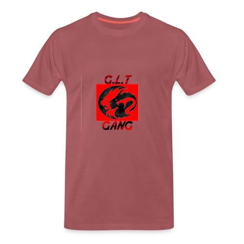 G.L.T Gang Logo on hat - Men's Premium T-Shirt