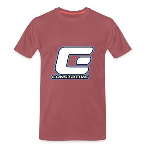 Constative hoodie - Herre premium T-shirt