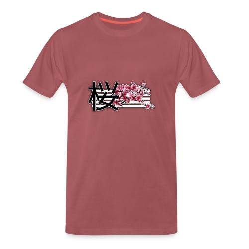 Fleur de Cerisier - T-shirt Premium Homme