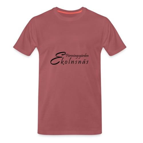 Ekolnsnäs - Premium-T-shirt herr