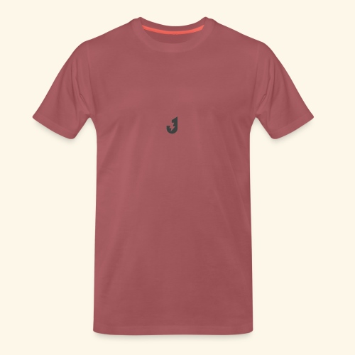 Small J Logo Tee - Men's Premium T-Shirt