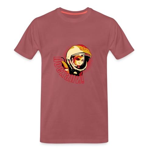 Yuri Gagarin - Camiseta premium hombre