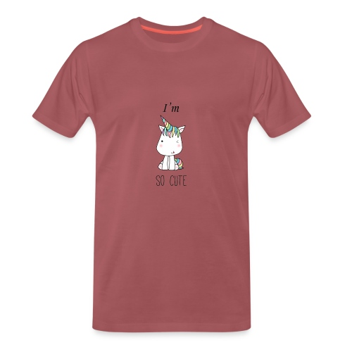 CUTE UNI - Camiseta premium hombre