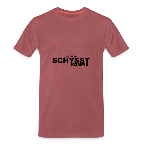 BASIC_BLACK - Premium-T-shirt herr