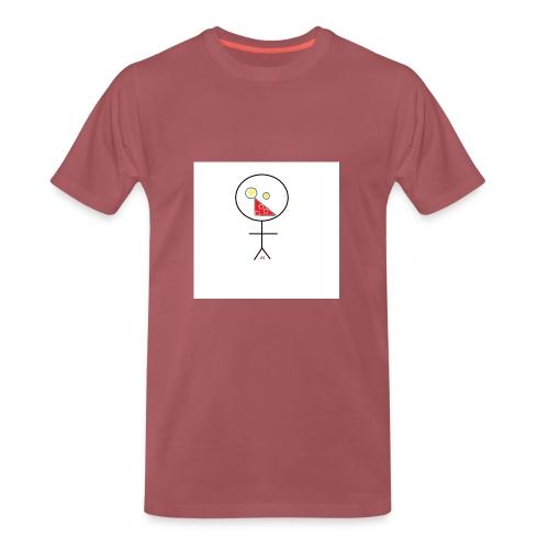 strekmann - Premium T-skjorte for menn