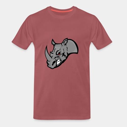 Rhino Mascot design - Men's Premium T-Shirt