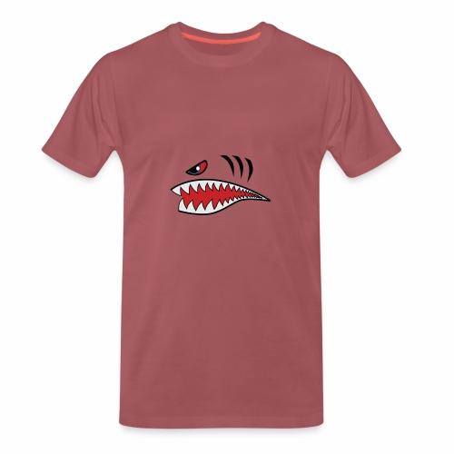 Tigerhai Maul - Männer Premium T-Shirt