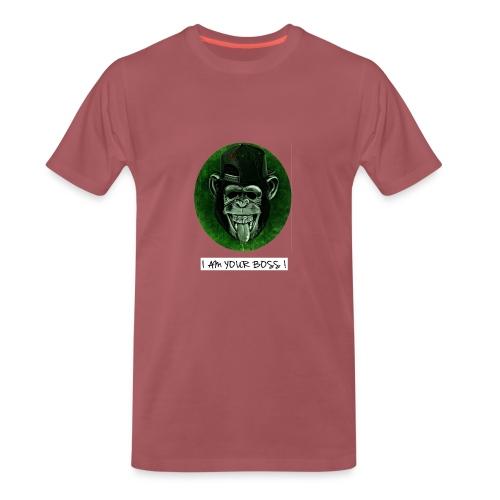 I AM YOUR BOSS ! - Maglietta Premium da uomo