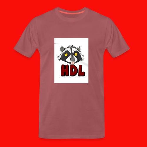 HeadLights Logo Shirt - Mannen Premium T-shirt