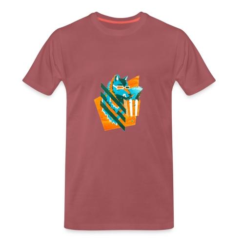 popcornwolf_logo_merch-0 - Mannen Premium T-shirt