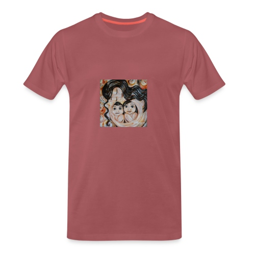 camiseta mujer mama e hijo - Camiseta premium hombre