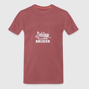 Lieblingsbruder - Männer Premium T-Shirt